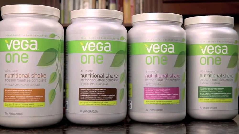VEGA ONE NUTRITIONAL SHAKE TUB
