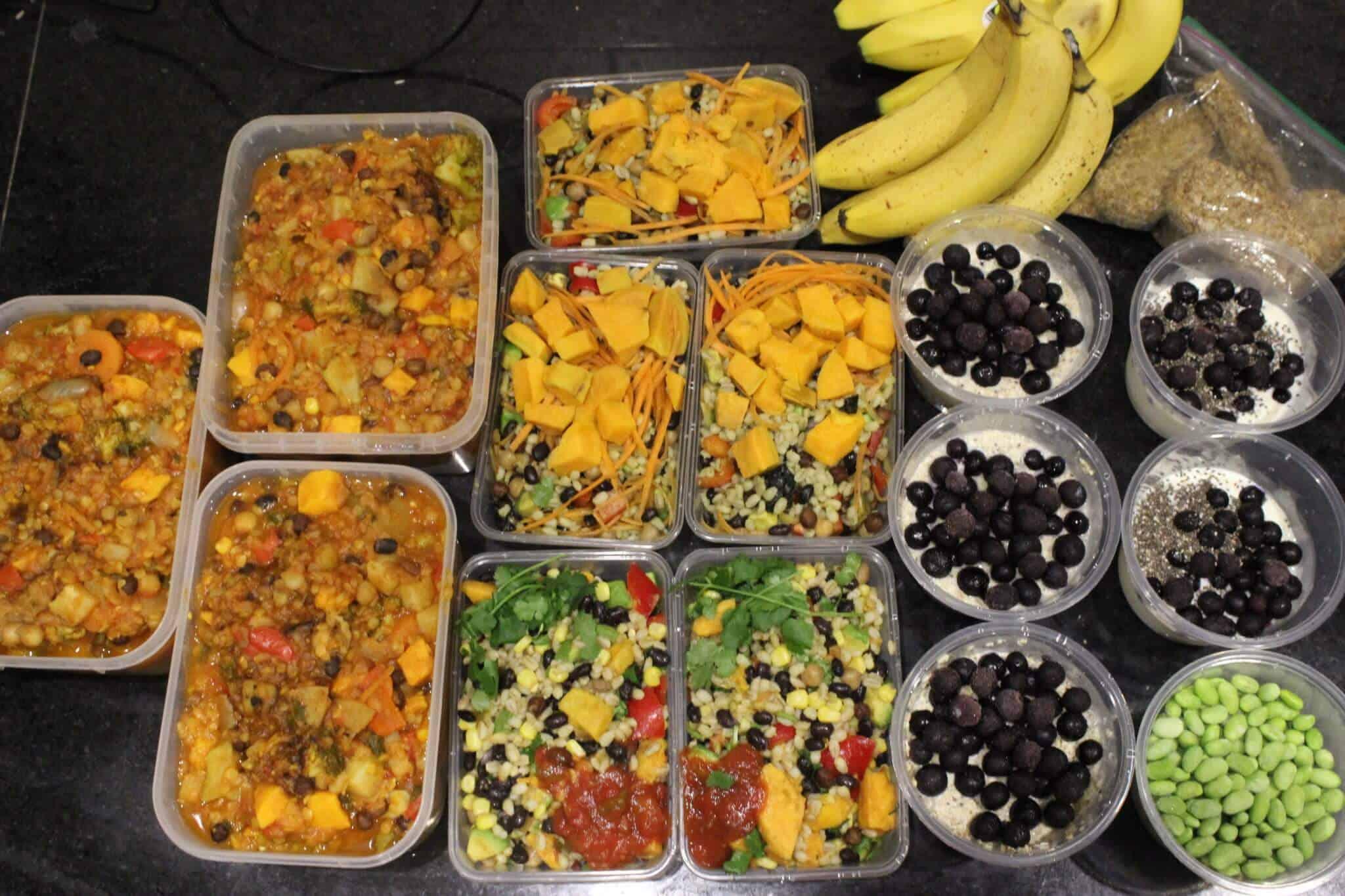 Vegan Meal Plan - plant based diet meal plan